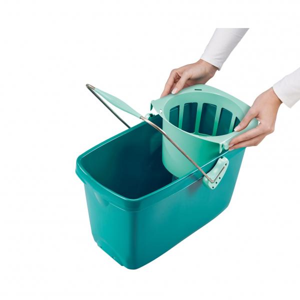 Set Curatenie Mop Rotativ -  Leifheit Clean Twist System 2