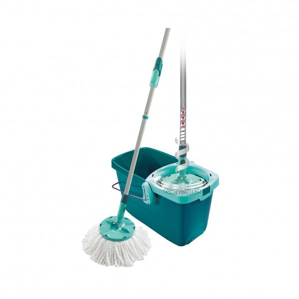 Set Curatenie Mop Rotativ -  Leifheit Clean Twist System 3