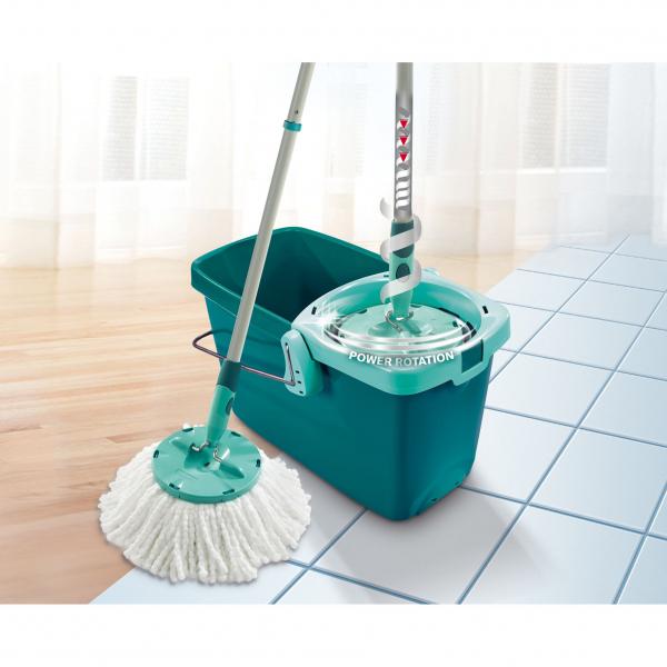 Set Curatenie Mop Rotativ -  Leifheit Clean Twist System 18