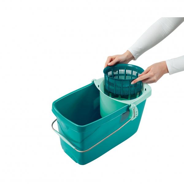 Set Curatenie Mop Rotativ -  Leifheit Clean Twist System 5