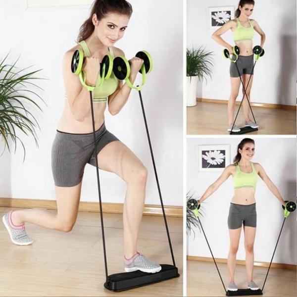 Roată dublă cu role pentru abdomen Fitness Extreme 9