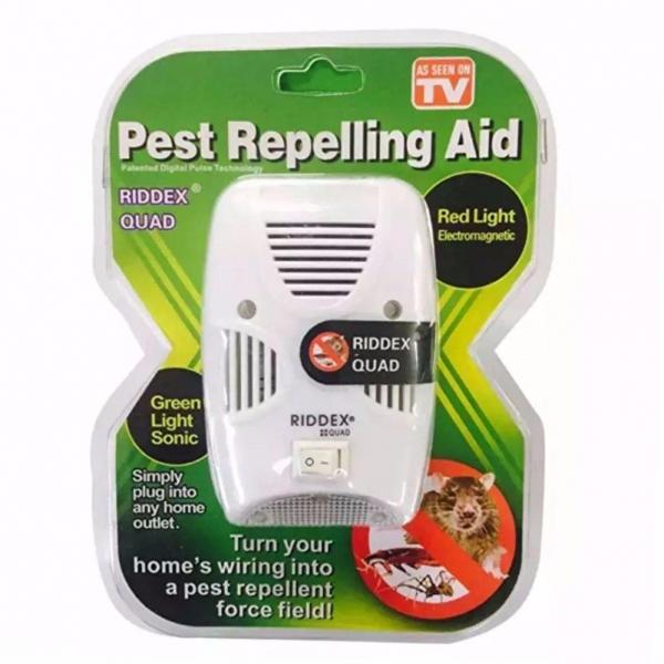 Aparat Anti Rozatoare Si Insecte Pest Repeller Riddex Quad 0