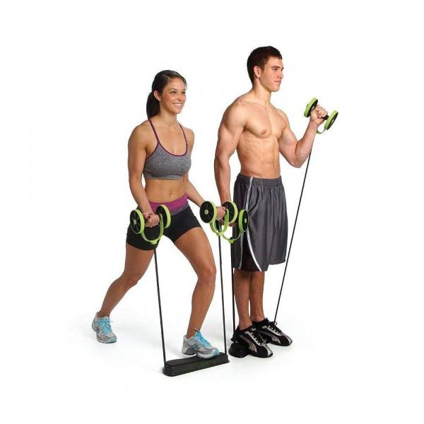 Roată dublă cu role pentru abdomen Fitness Extreme 11