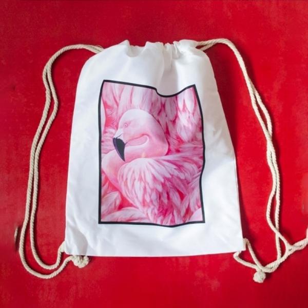 Rucsac Flamingo #5 - 35x45 cm 0