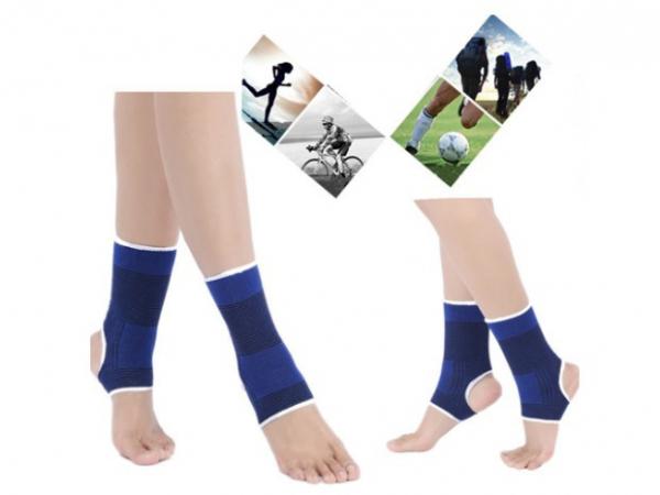 Set 2 glezniere elastice , suport pentru glezna, compatibil cu activitatea fizica, amelioreaza durerea si ofera suport, marime universala 0