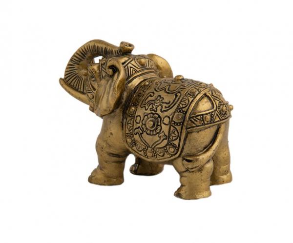 Statueta feng shui - Elefant cu trompa in sus 1