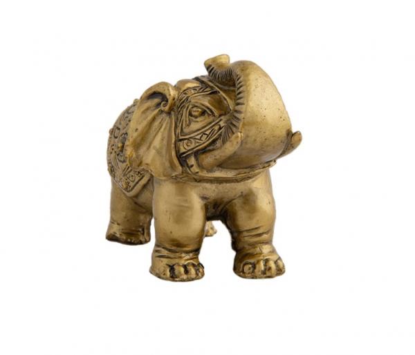 Statueta feng shui - Elefant cu trompa in sus 2