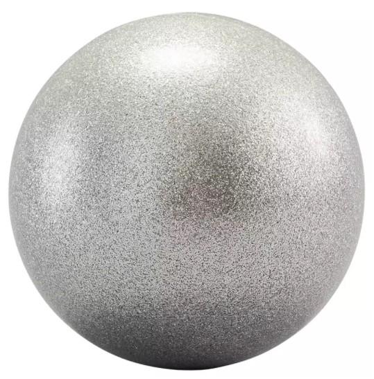 Minge gimnastica ritmica argintie 0