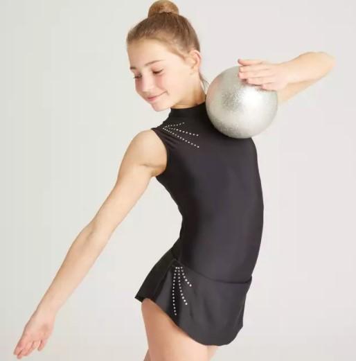 Minge gimnastica ritmica argintie 1