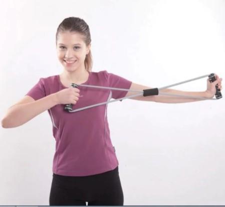Curele cu manere pentru antrenament Liveup, maxim 130 cm 3