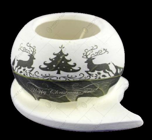 Candela realizata din ceramica – Design Brad & Ren [1]