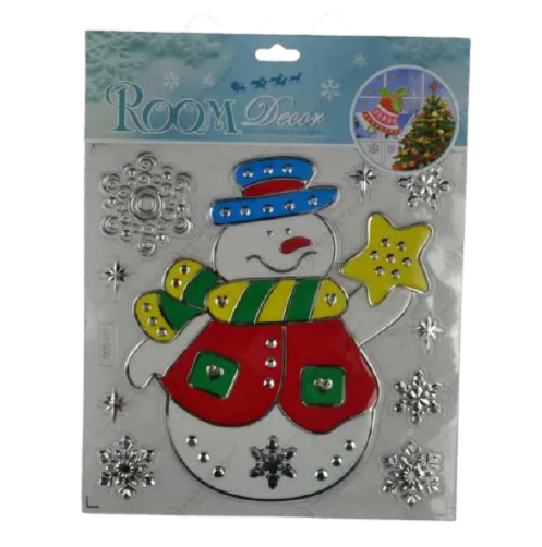 Sticker decorativ pentru Craciun – Diverse modele 0