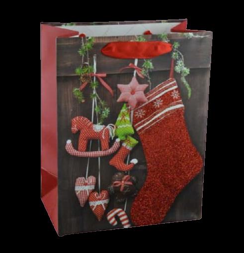 Punga pentru cadouri – Design Craciun 0