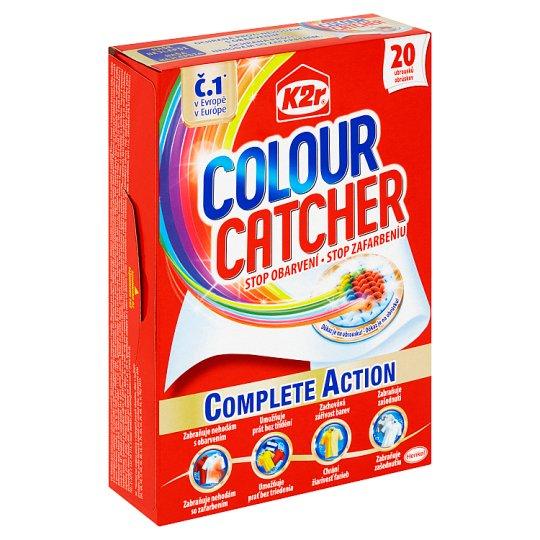 Servetele K2R Colour Catcher 20 buc. - Pentru Haine Colorate 1