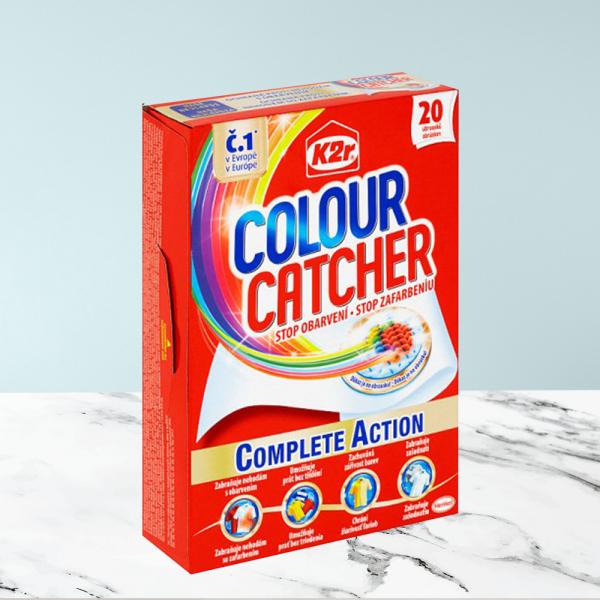 Servetele K2R Colour Catcher 20 buc. - Pentru Haine Colorate 0