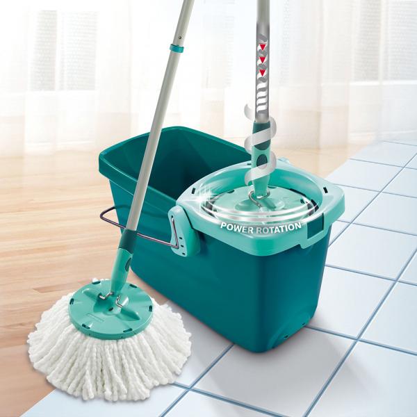 Set Curatenie Mop Rotativ -  Leifheit Clean Twist System 1