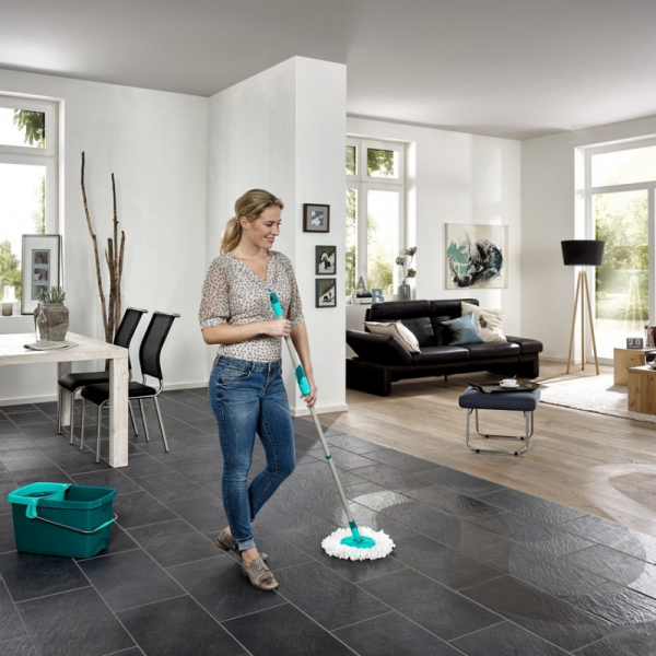Set Curatenie Mop Rotativ -  Leifheit Clean Twist System 11