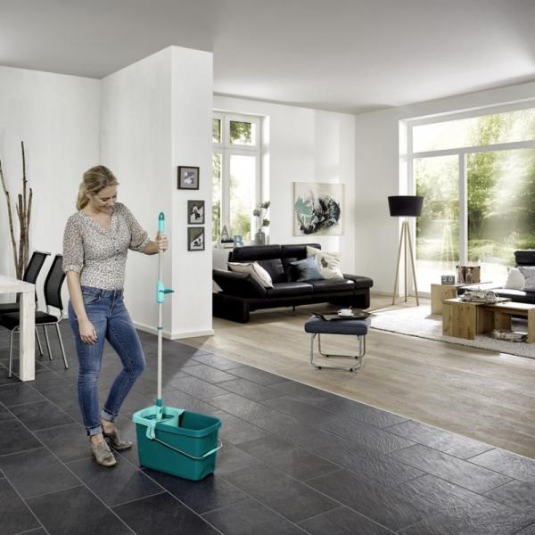 Set Curatenie Mop Rotativ -  Leifheit Clean Twist System 12
