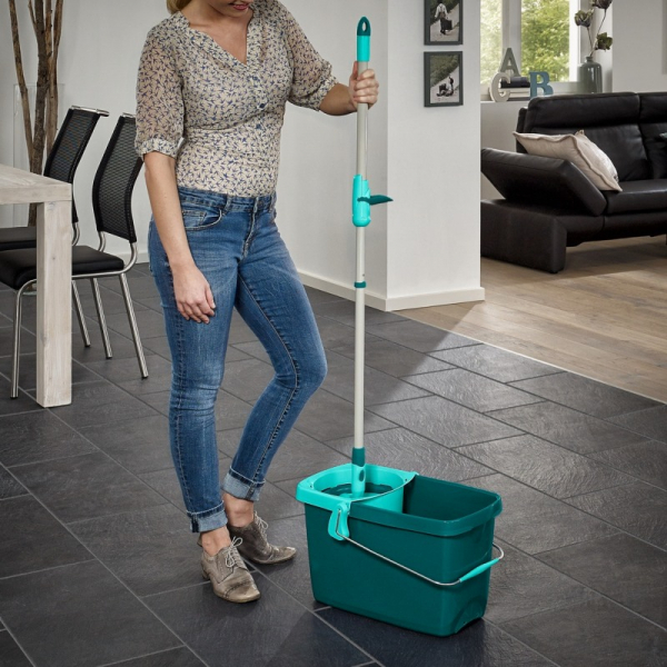 Set Curatenie Mop Rotativ -  Leifheit Clean Twist System 13