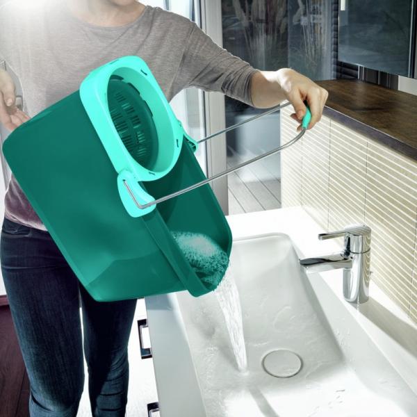 Set Curatenie Mop Rotativ -  Leifheit Clean Twist System 14