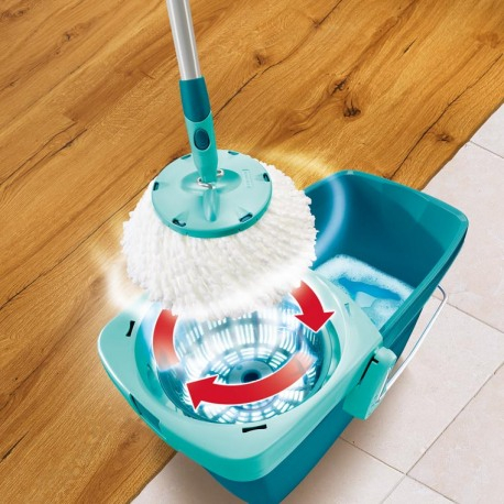 Set Curatenie Mop Rotativ -  Leifheit Clean Twist System 8