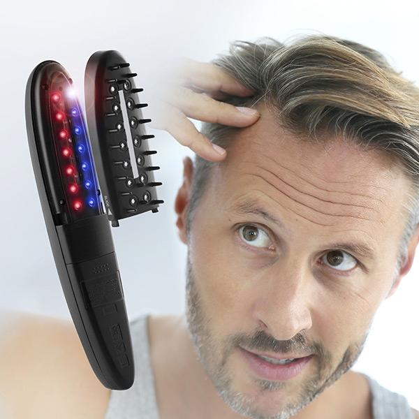 Set de perii electrice - tratament cu laser, oprește caderea părului cu accesorii (12 bucăți) 0
