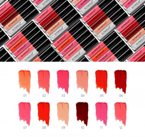 Set Luciu de Buze 5 Culori 2