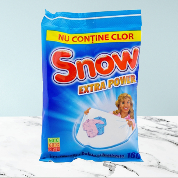 Detergent pudra inalbitor 160g - Snow Extra Power 0