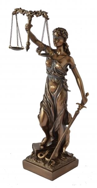 Statueta Justitie 0