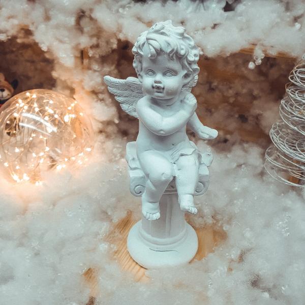 Statueta inger pe stalp 18CM #2 [0]