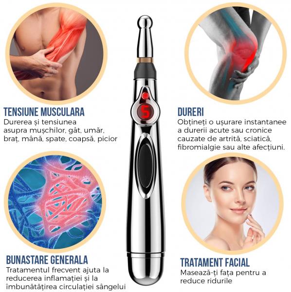 Stilou electronic de acupunctură pentru terapia de ameliorare a durerii [3]