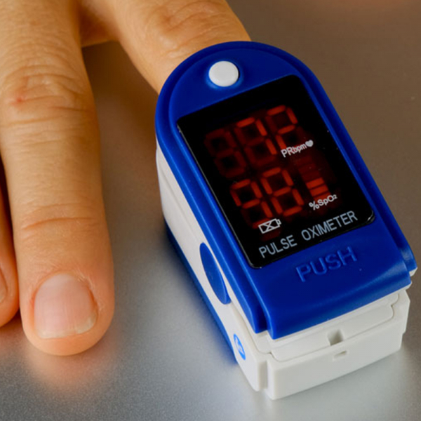 Dispozitiv de Masurat Saturatie Oxigen si Puls pentru Deget - Pulsoximetru / Oximetru 0