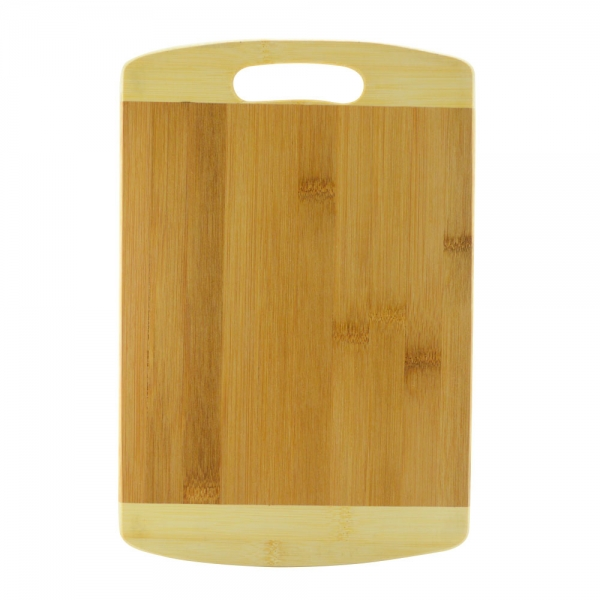 Tocator Rectangular Din Bambus Cu Maner - 32x21.5x1.8 CM 1