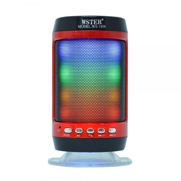 Boxa Bluetooth Portabila - 12 cm - Cu LED 2
