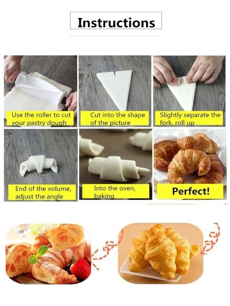 Rola pentru taiat aluat croissant 3