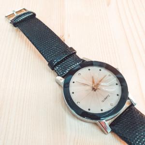 Ceas de dama Quartz negru1