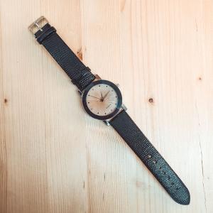 Ceas de dama Quartz negru0
