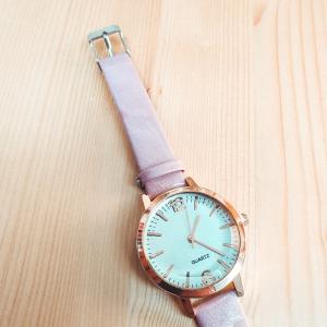 Ceas de dama Quartz roz1