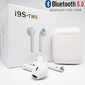 Mini căști - i9 TWS Smart Wireless Bluetooth Mini căști - alb0