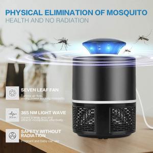 Lampa Mosquito Killer cu Led - Anti-Tantari Electric USB, acoperire 40 mp24