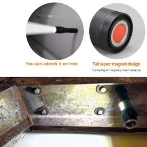 Lanterna Metalica LED Cu ZOOM Si Baza Magnetica5