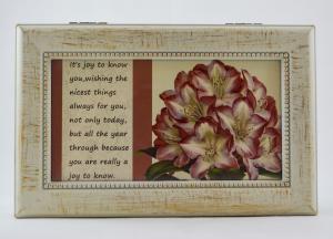 Cutie muzicala realizata din lemn pentru depozitarea bijuteriilor – Design vintage #21
