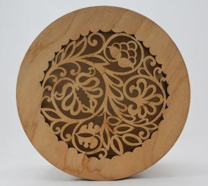 Cutie bijuterii din lemn cu model1