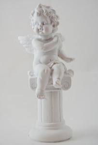 Statueta inger pe stalp 18CM #2 [1]