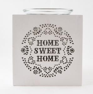 Candela din lemn - Home1