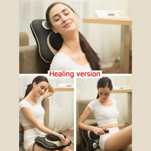 Pernă Multifunctionala pentru masaj Gât si Cervical - Electric5