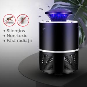 Lampa Mosquito Killer cu Led - Anti-Tantari Electric USB, acoperire 40 mp21