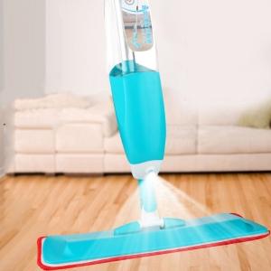 Mop Cu Pulverizator Spray Si Laveta Din Microfibra – 500 ML - Albastru0