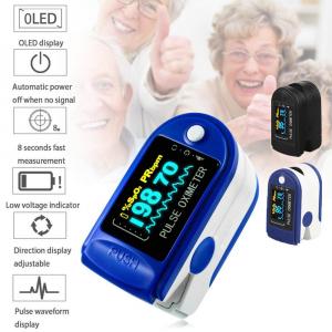 Dispozitiv de Masurat Saturatie Oxigen si Puls pentru Deget - Pulsoximetru / Oximetru9