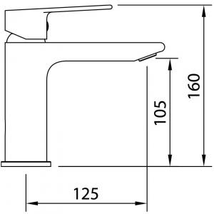 Baterie lavoar AGORA XTREME 105 ec21